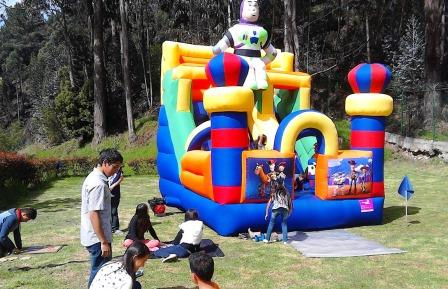 saltarin inflable