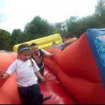 inflable carril elastico