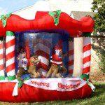 inflables show navideño