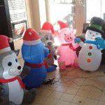 inflables para navidad