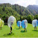 pelotas inflables futboleras