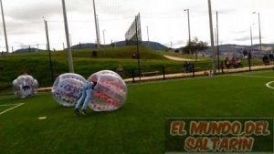 alquiler de bumpers balls