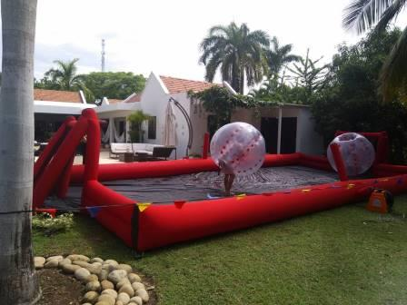 alquiler de cancha inflable