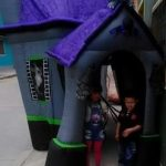 Inflable para halloween