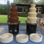 alquiler fuentes de chocolate