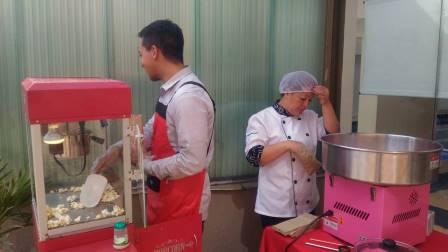 maquinas de maiz y algodon de azucar