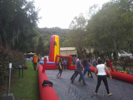 alquiler cancha inflable