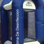 cabina de desinfeccion inflable